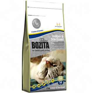Blandet prøvepakke: Bozita Feline 3 x 2 kg - Blandet pakke