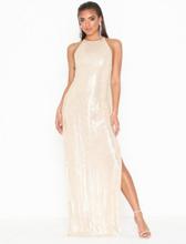 NLY Eve Sequin Slit Gown Paljettklänningar
