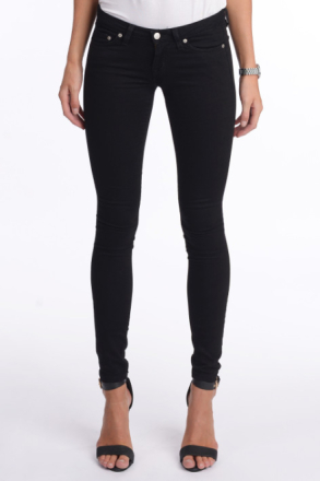 Crocker SKINNY FIT JEANS HIT BLACK Kvinna