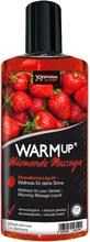 JOYdivision - Warm up! värmande massageolja med jordgubbssmak 150 ml