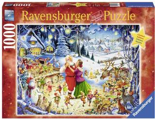 Ravensburger Pussel, Jultomtens fest 1000 bitar