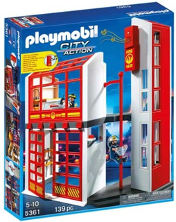 Playmobil City Action Brandstation - 5361
