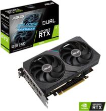 GeForce RTX 3060 DUAL - 12GB GDDR6 SDRAM - Grafikkort
