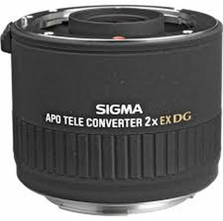igma APO Tele Converter 2x EX DG (Canon EF) Sort Extender/telekonverter