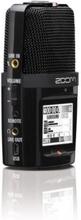 Zoom H2n 4-spårig digital inspelare (2 stereo) - 5 mikrofonkapslar som erbjuder inspelning i MS-läge eller