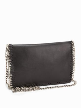 NLY Accessories Crossover Chain Bag Axelremsväskor Svart/Silver