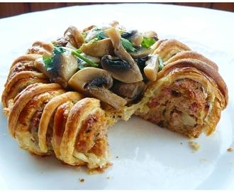 recipe: zapiekanka makaronowa z mięsem mielonym i pieczarkami [37]