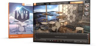 Expansioner till EZDrummer & Superior drummer 2.0 - EZX (EZX Dream Pop, Skiva)