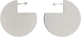 Isabel Marant Silver 90 Degree Earrings