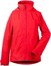 Didriksons Stratus Women's Jacket Dam Regnjacka Röd 40