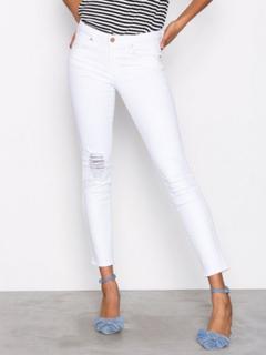 Gina Tricot Emma Jeans Skinny Offwhite