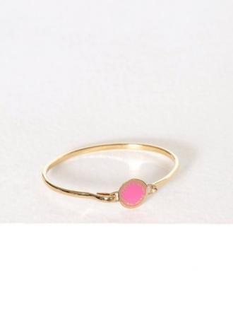 Marc Jacobs Hinge Bracelet Pink