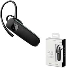 Alpexe Plantronics Trådlöst Bluetooth Headset ML15 Svart