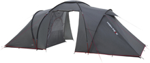 High Peak Como 4 Tent Dark Grey/Red 2019 Campingtält