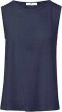 Rundhalsat linne från Peter Hahn blå