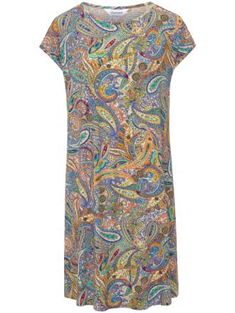 Jerseyklänning från Charmor mångfärgad