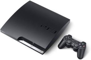 PlayStation 3 Slim 320GB Sort