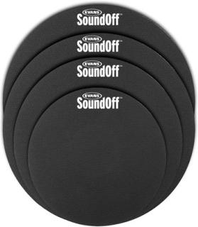 HQ Sound Off trumdämpare (Set för trummor 10, 12, 14, 14