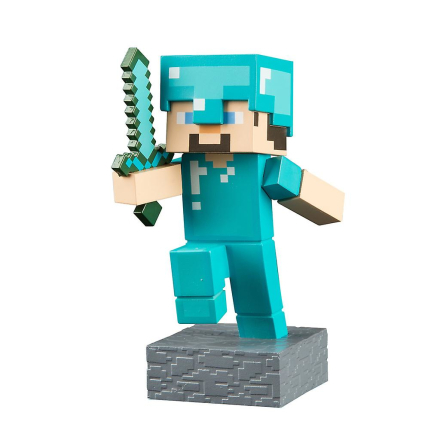 Minecraft Diamond Steve Adventure tal serie 1 - Fruugo