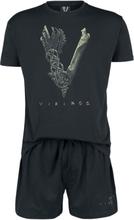 Vikings - Bone Logo -Pyjamas - svart