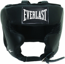 Leather Pro Traditional Headgear - Black S/M