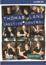 Thomas Lang: Creative Control (Bok+CD)