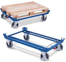 Paletten-Fahrgestell mit Rahmen 500 kg