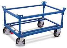 Paletten-Fahrgestell mit 2 Rahmen 1200 kg