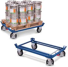 Paletten-Fahrgestell mit Rahmen 1200 kg