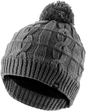 Waterproof Cable Knit Bobble Harmaa S/M