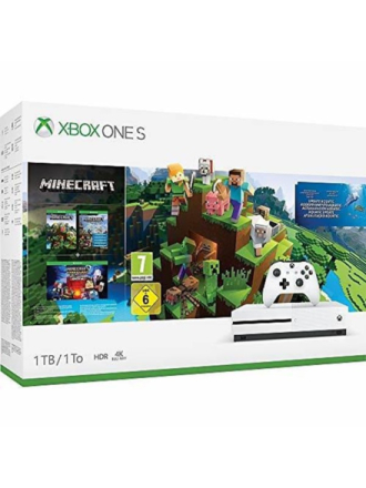 Xbox One S - 1TB (Minecraft Bundle) - Proshop
