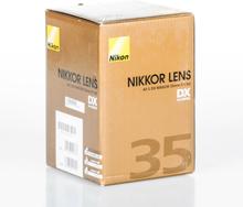Nikon AF-S DX NIKKOR 35mm F/1.8G Objektive
