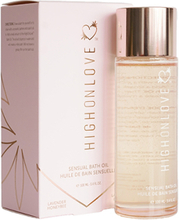 HighOnLove - Bath Oil Lavender Honeybee 100 ml
