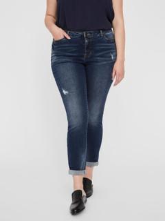 JUNAROSE Denim Jeans Kvinder Blå