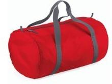 Packaway Barrel Bag Classic Red