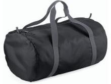 Packaway Barrel Bag Black