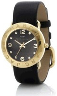Marc by Marc Jacobs MBM1154 Amy Svart/Läder Ø36 mm