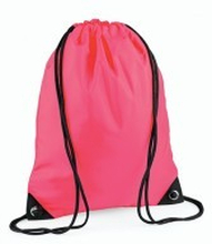 Premium Gymsac Flourescent Pink