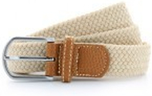 Braid Stretch Belt Natural