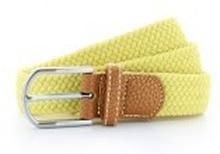 Braid Stretch Belt Lemon Zest