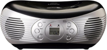 Boombox SCD-12 - boombox - CD - FM - Stereo - Svart