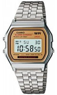 Casio A158WEA-9EF Casio Collection Stål 36.8x33.2 mm