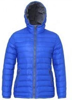 Women's Padded Jacket Royal/Grey
