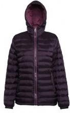 Women's Padded Jacket Aubergine/Mulberry
