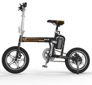 R5B Eldriven Cykel Svart