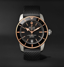 Breitling - Superocean Héritage Ii B20 Automatic 42mm Stainless Steel, Red Gold And Rubber Watch, Ref. No. Ub2010121b1s1 - Black