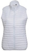 W´s Tribe Fineline Padded Gilet White