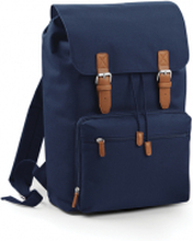 Vintage Laptop Backpack French Navy