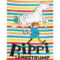 Handduk Pippi Randig