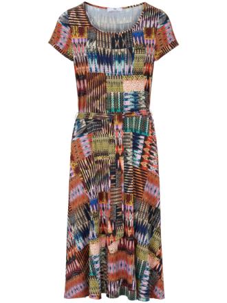 Jerseyklänning från Peter Hahn mångfärgad